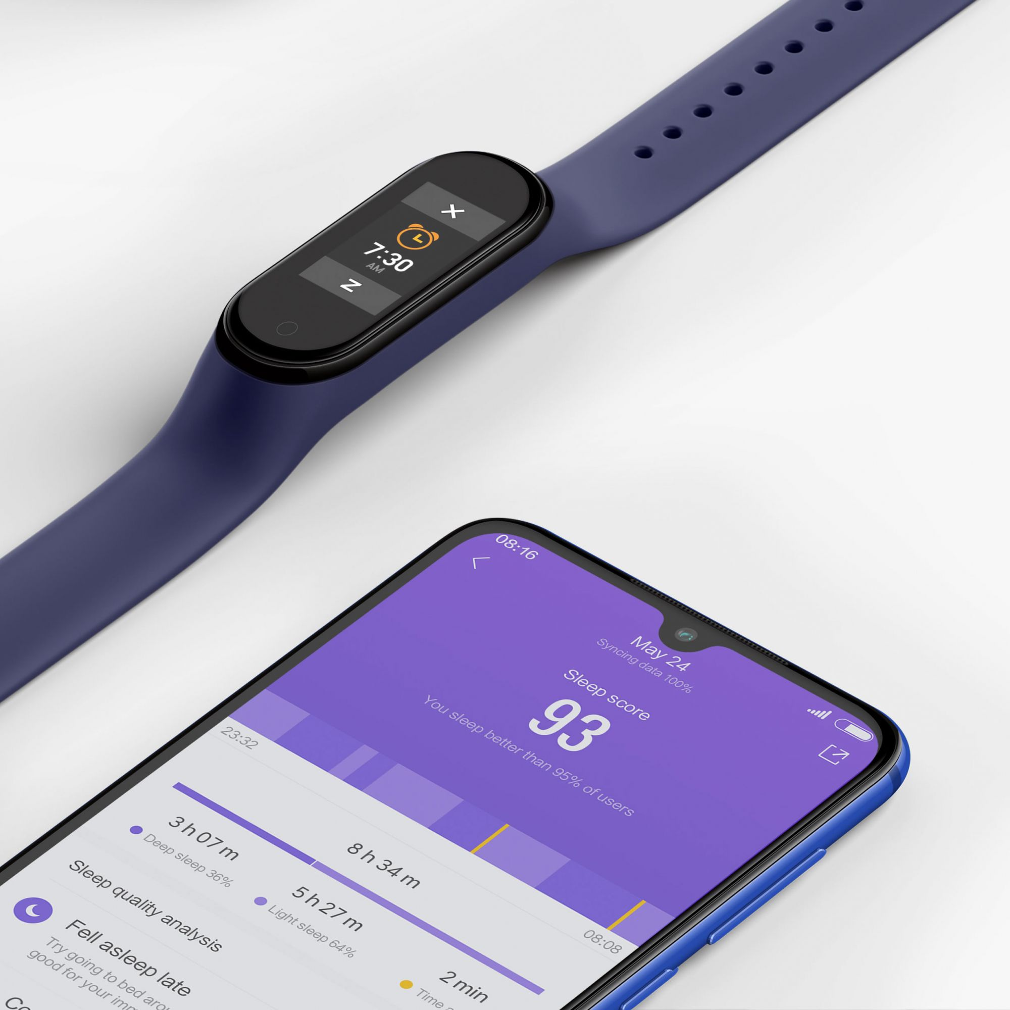 Smartwatch Xiaomi Mi Band 4 Display Colorido - Global