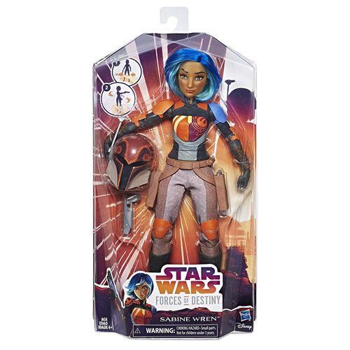 Star Wars Forces of Destiny - Sabine Wren - Disney