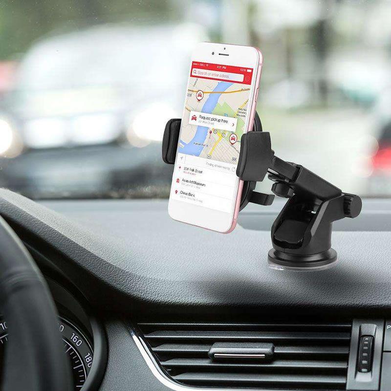 Suporte Celular Gps Para Carro com Trava Automática