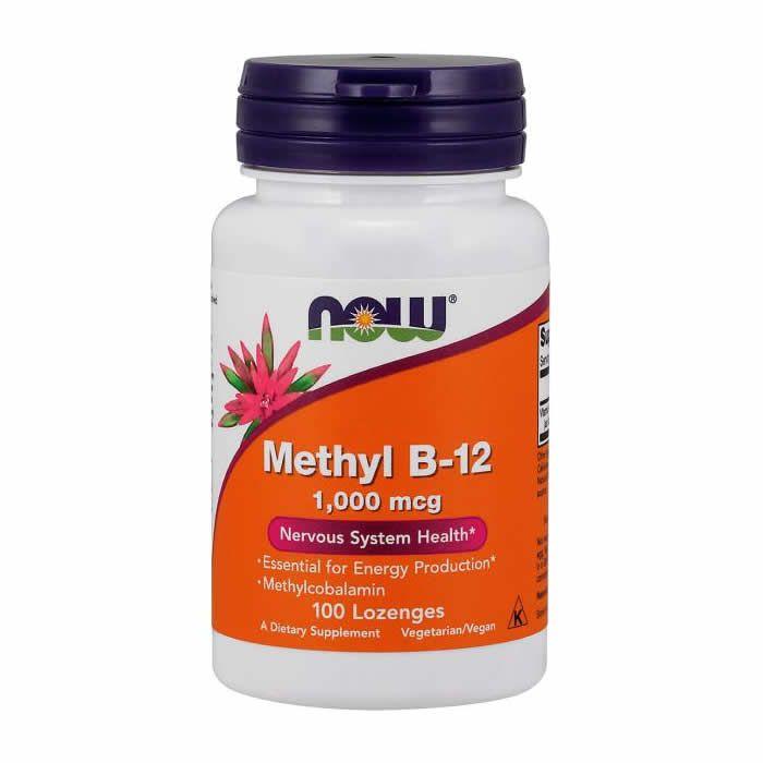 Vitamina Methyl B-12 Now Food 1000mcg - 100 Cápsulas