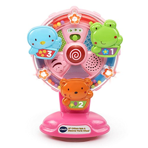 VTech Lil 'Critters Spin and Discover Ferris Wheels - Rosa
