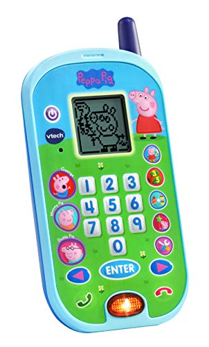 VTech Peppa Pig Let's Chat Learning Phone