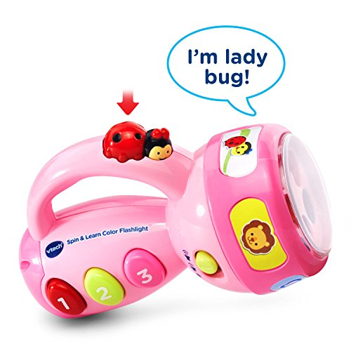 VTech Spin and Learn Color Flashlight - Rosa