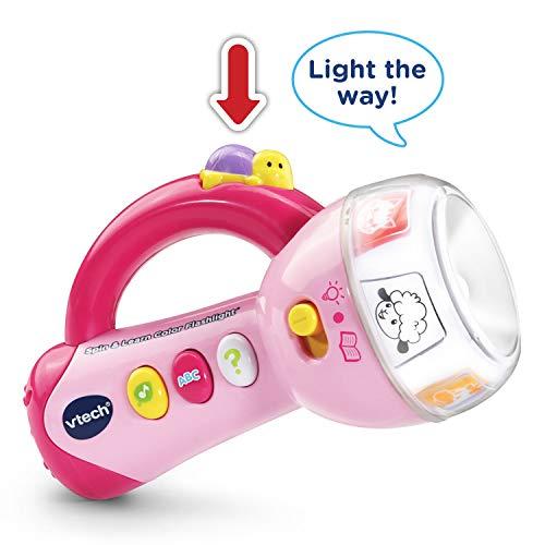 VTech Spin & Learn Color Flashlight - Rosa