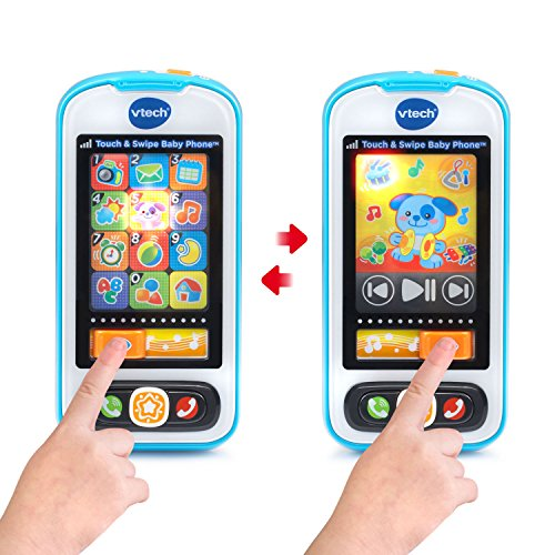 VTech Touch and Swipe Baby Phone - Azul