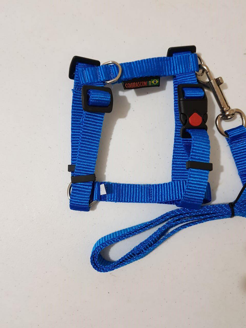 Peitoral 20 mm tamanho 2 ideal para Dachshund. Liso