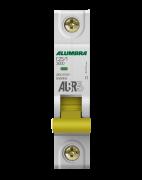 Disjuntor 1X25A Din Curva C - Alumbra