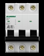 Disjuntor 3X40A Din Curva C - Alumbra