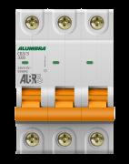 Disjuntor 3X63A Din Curva C - Alumbra