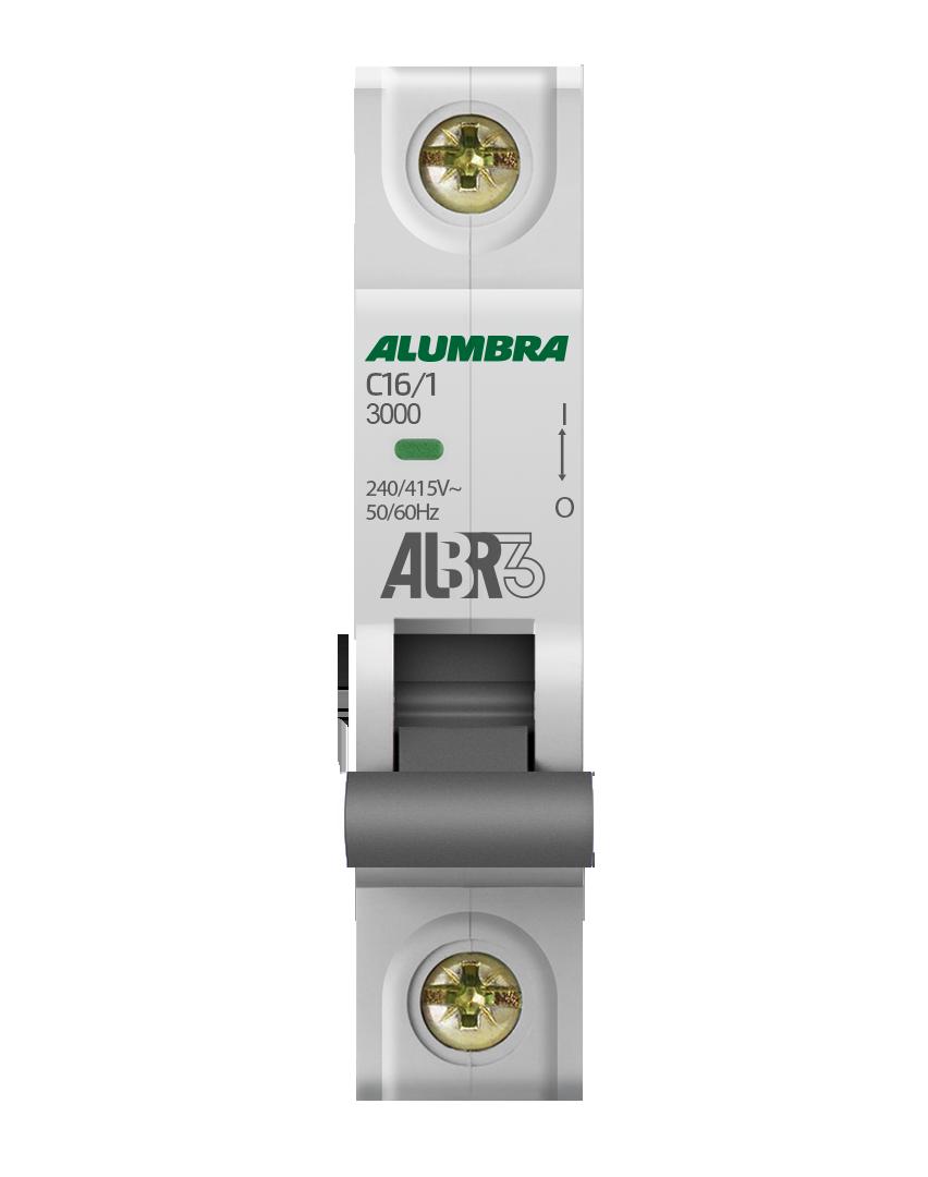 Disjuntor 1X16A Din Curva C - Alumbra