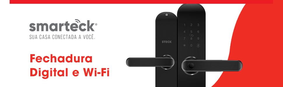 Fechadura Digital Wifi Steck