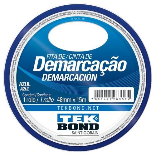 FITA DE DEMARCACAO AZUL 48MMX15M TEKBOND