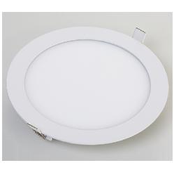 Kit 10 Luminaria Plafon Led Redondo de Embutir Branco Frio 18W