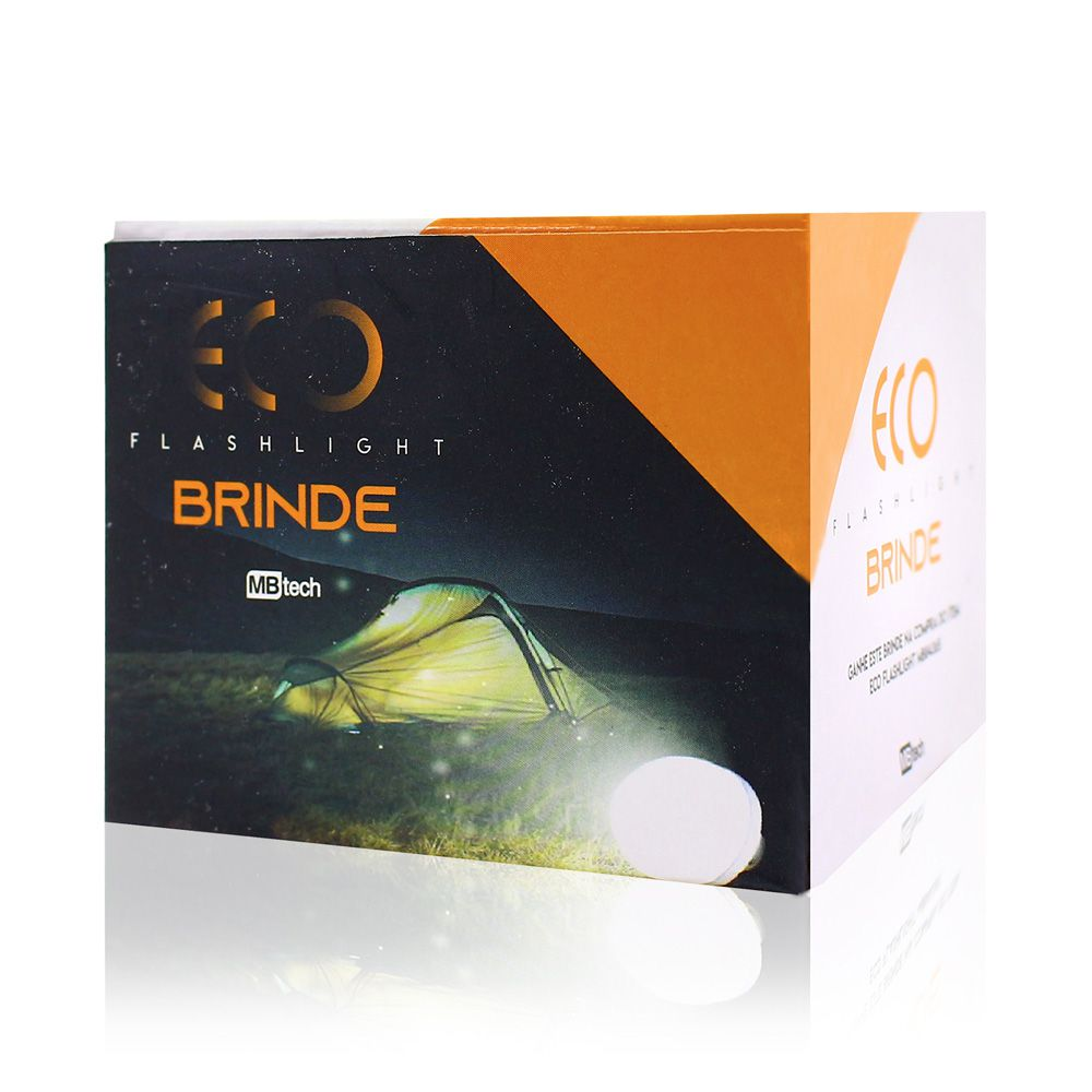 Lanterna de Led Recerregável Com Energia Solar + Lâmpada de Brinde