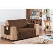 617af60c3e capa protetora de sofa casa dona king vermelha 2 e 3 lugares com ...