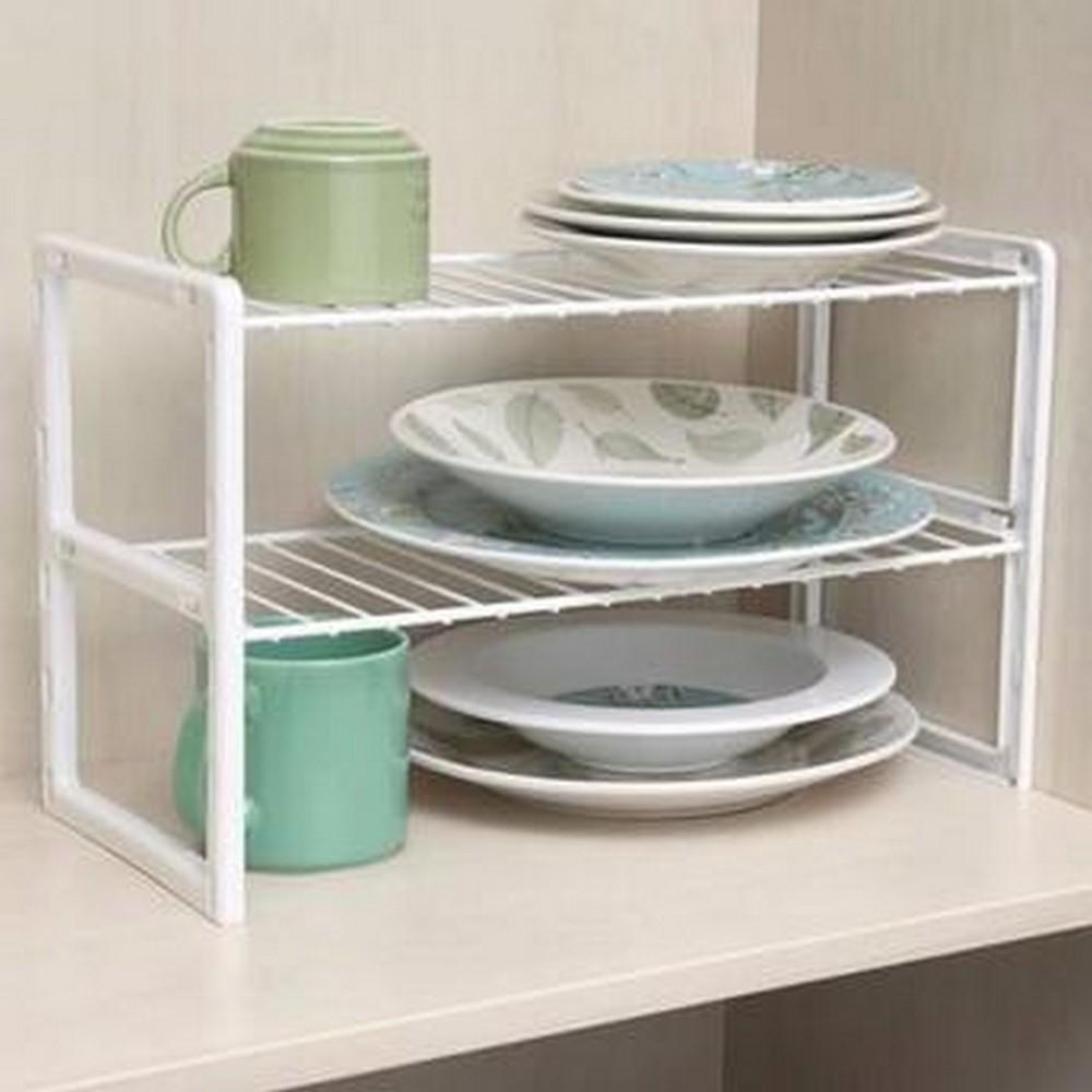 Organizador Aramado para Cozinha: Aço Revestido + Fácil Limpeza - Casa Dona