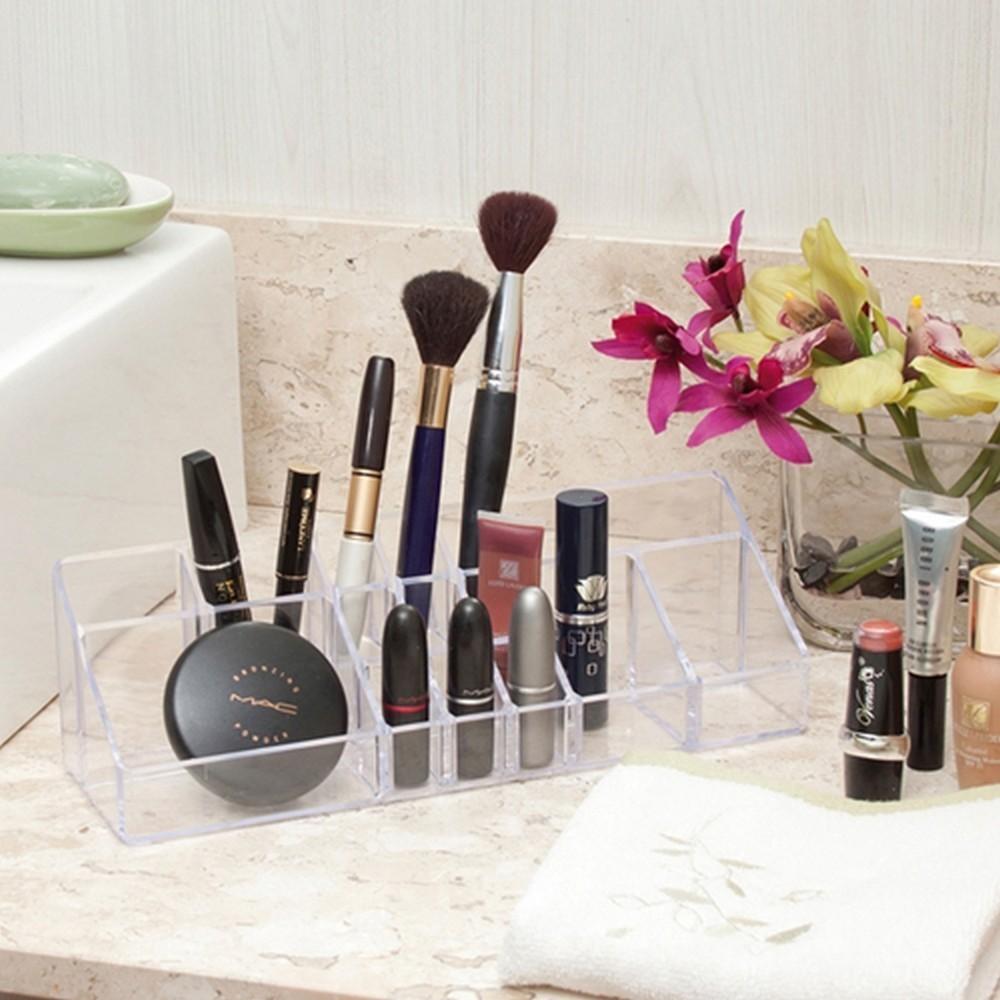 Organizador Maquiagem Eficaz Tamanho Grande Transparente Casa Dona
