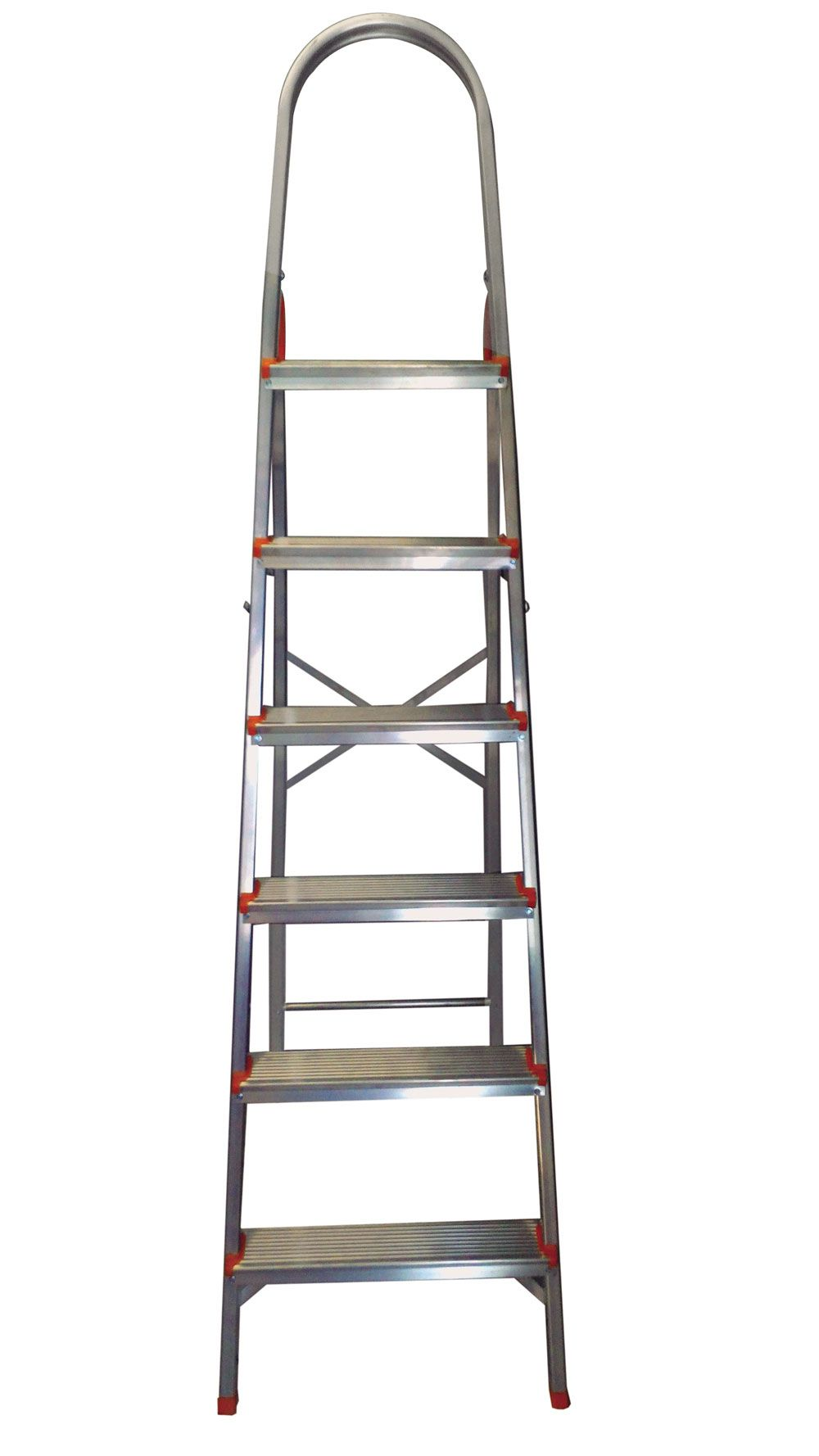 Escada Doméstica Aluminio 6 Degraus Agata
