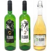 KIT Hidroméis Flora Suave, Seco e Frisante + Lúpulo - Lobos Hidroméis