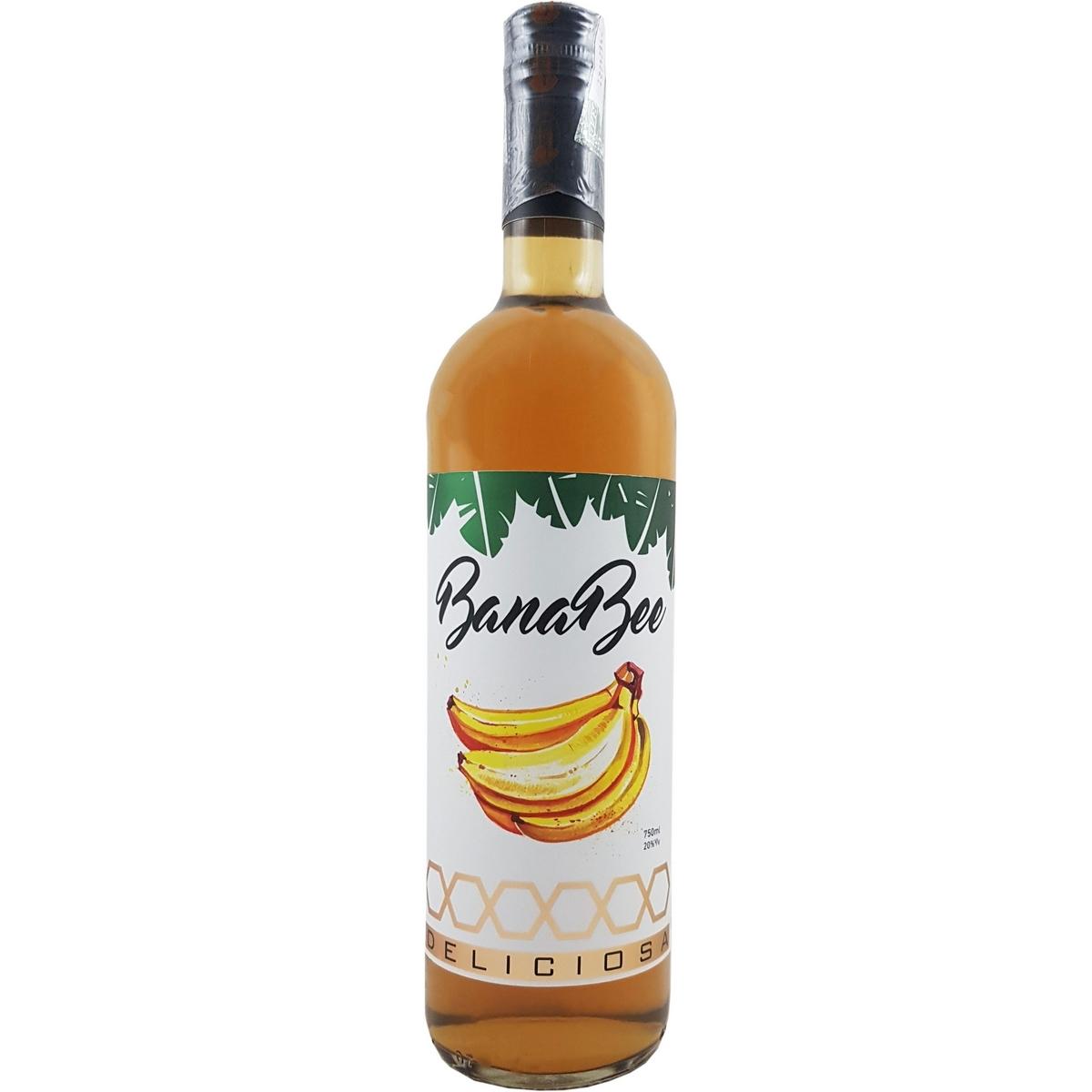Bebida Mista Banabee com Banana Mel e Canela  750ml