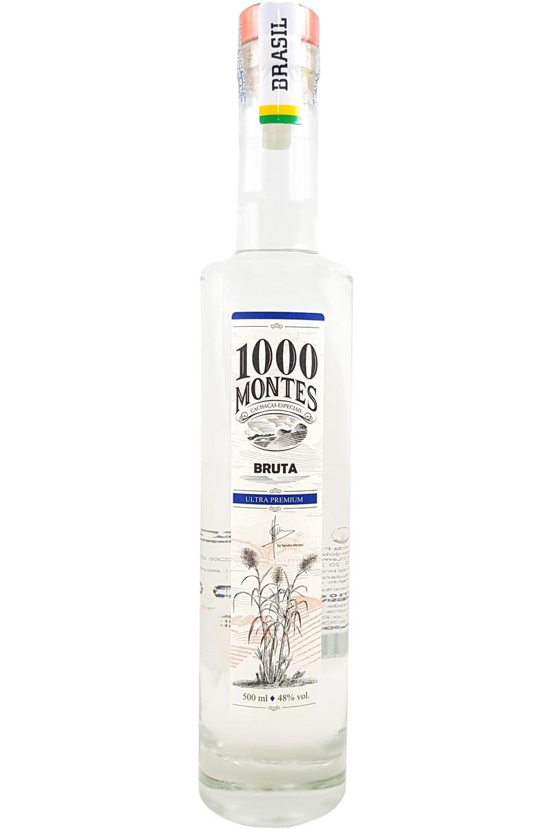 Cachaça 1000 Montes Bruta 500ml