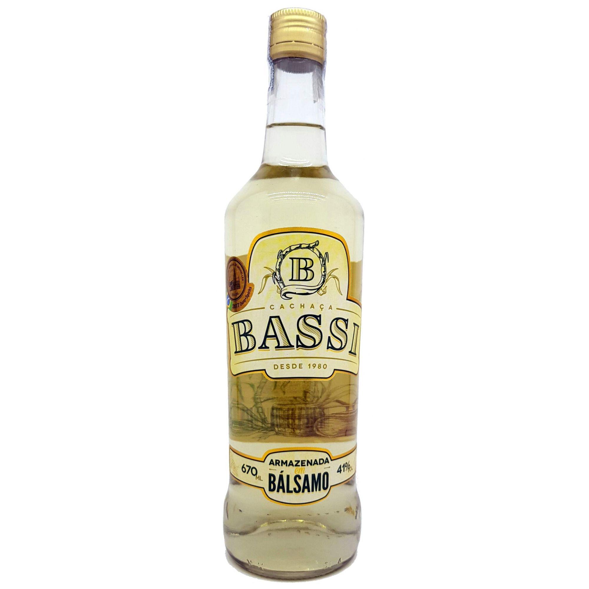 Cachaça Bassi Bálsamo 670ml