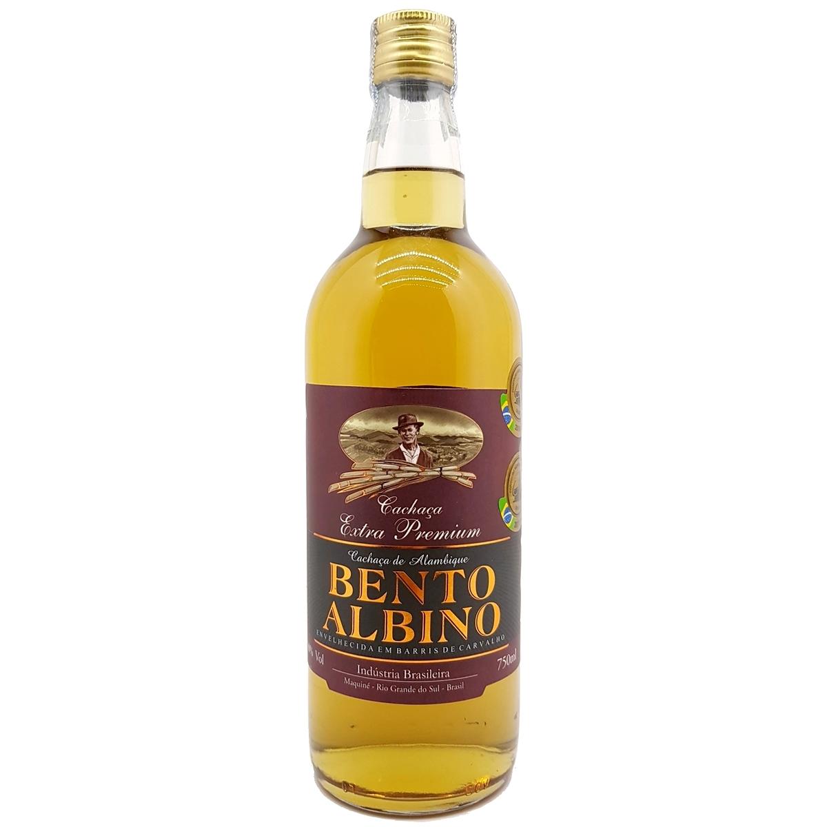Cachaça Bento Albino Extra Premium 750ml