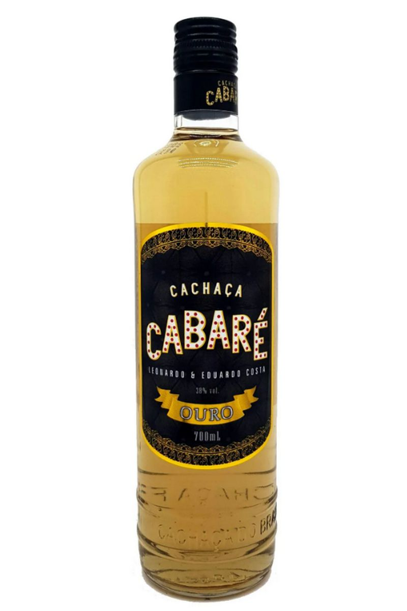 Cachaça Cabaré Ouro Dom Tápparo 700ml