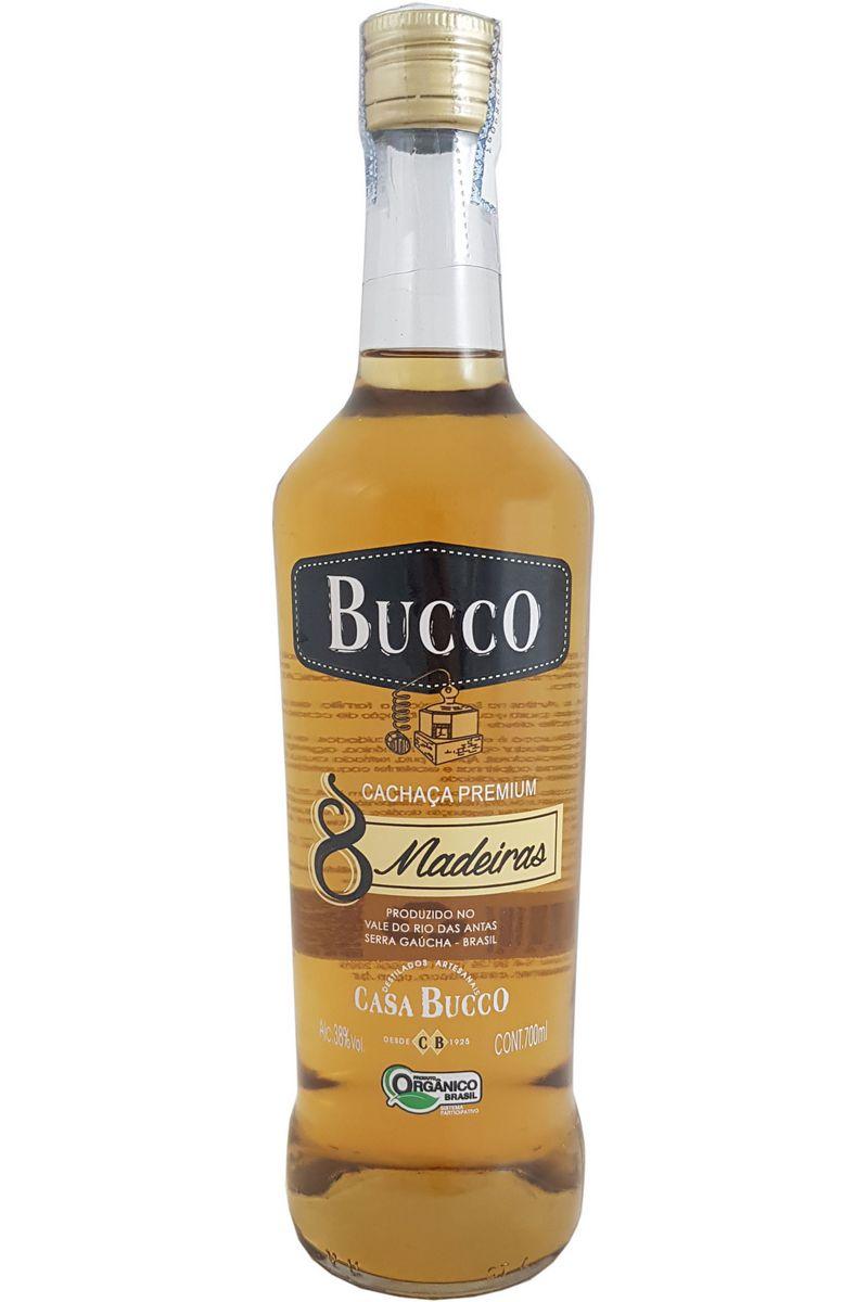 Cachaça Casa Bucco 8 Madeiras Premium 700ml
