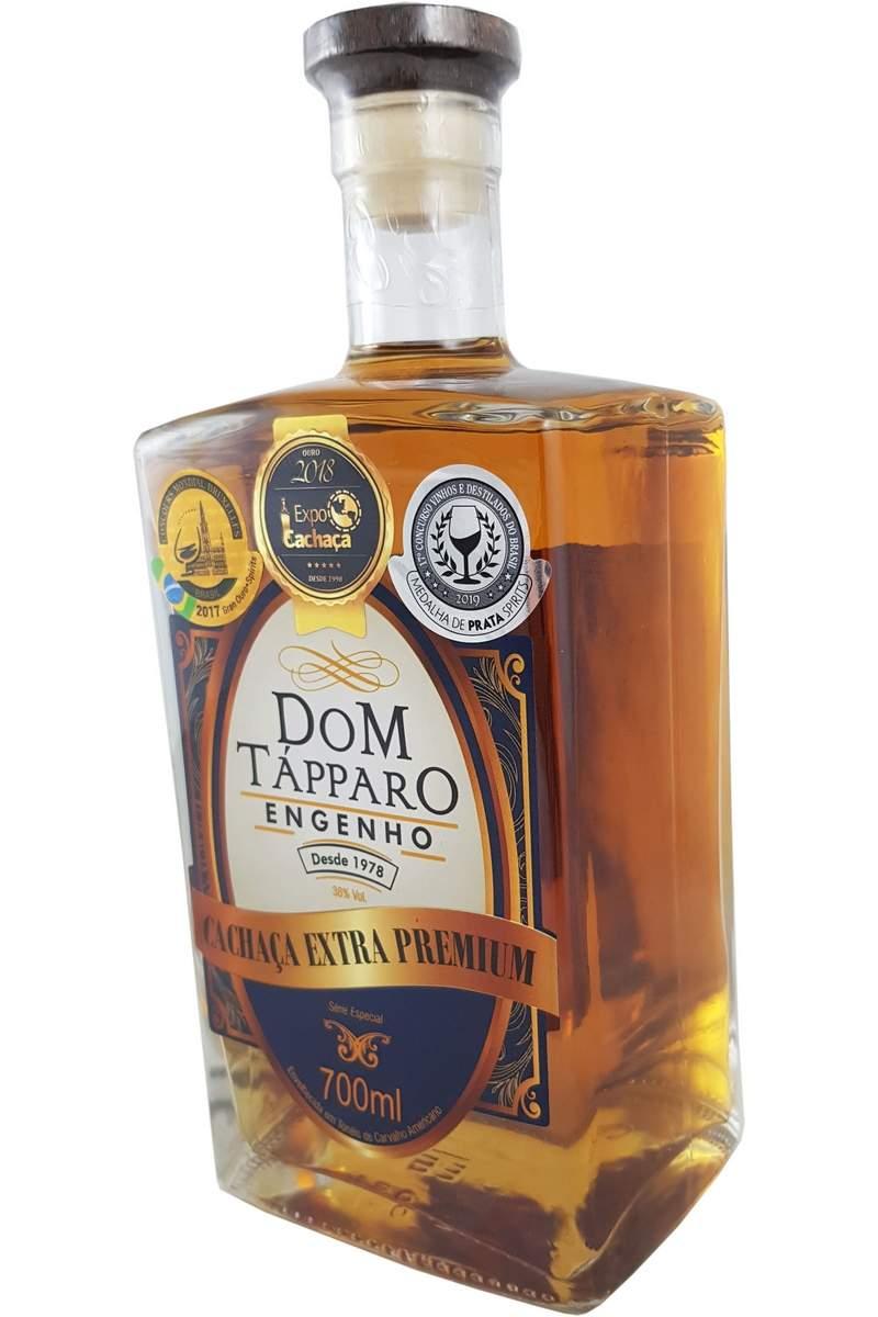 Cachaça Dom Tápparo Extra Premium 10 Anos Série Especial 700ml