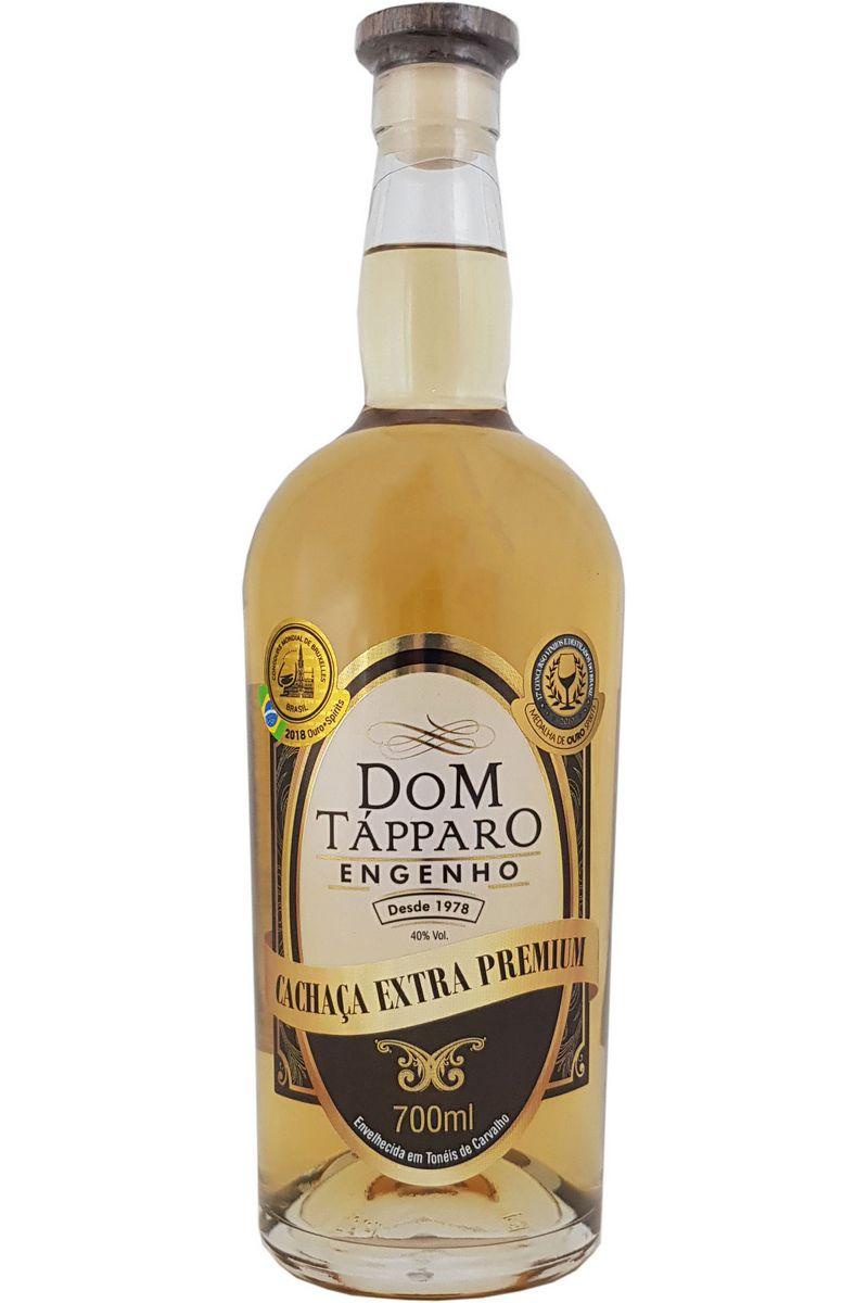 Cachaça Dom Tápparo Extra Premium 12 Anos Edição Especial 700ml