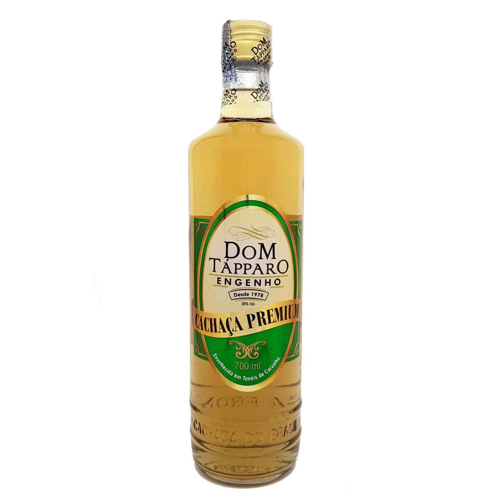 Cachaça Dom Tápparo Premium 8 Anos 700ml