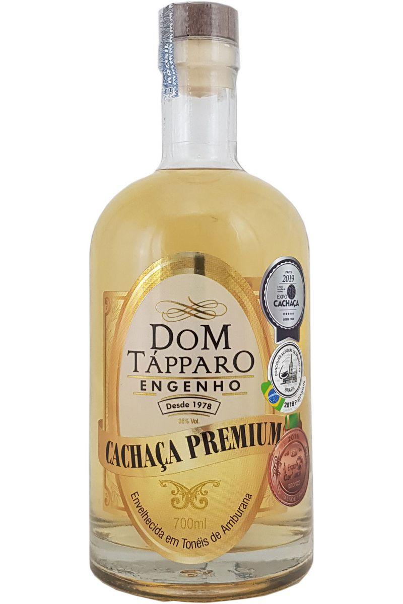 Cachaça Dom Tápparo Premium Amburana 700ml