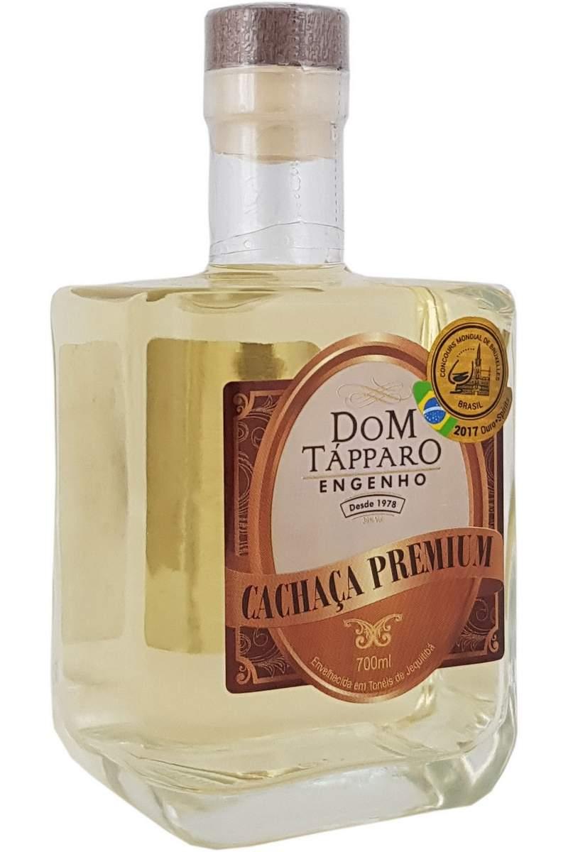 Cachaça Dom Tápparo Premium Jequitibá 700ml