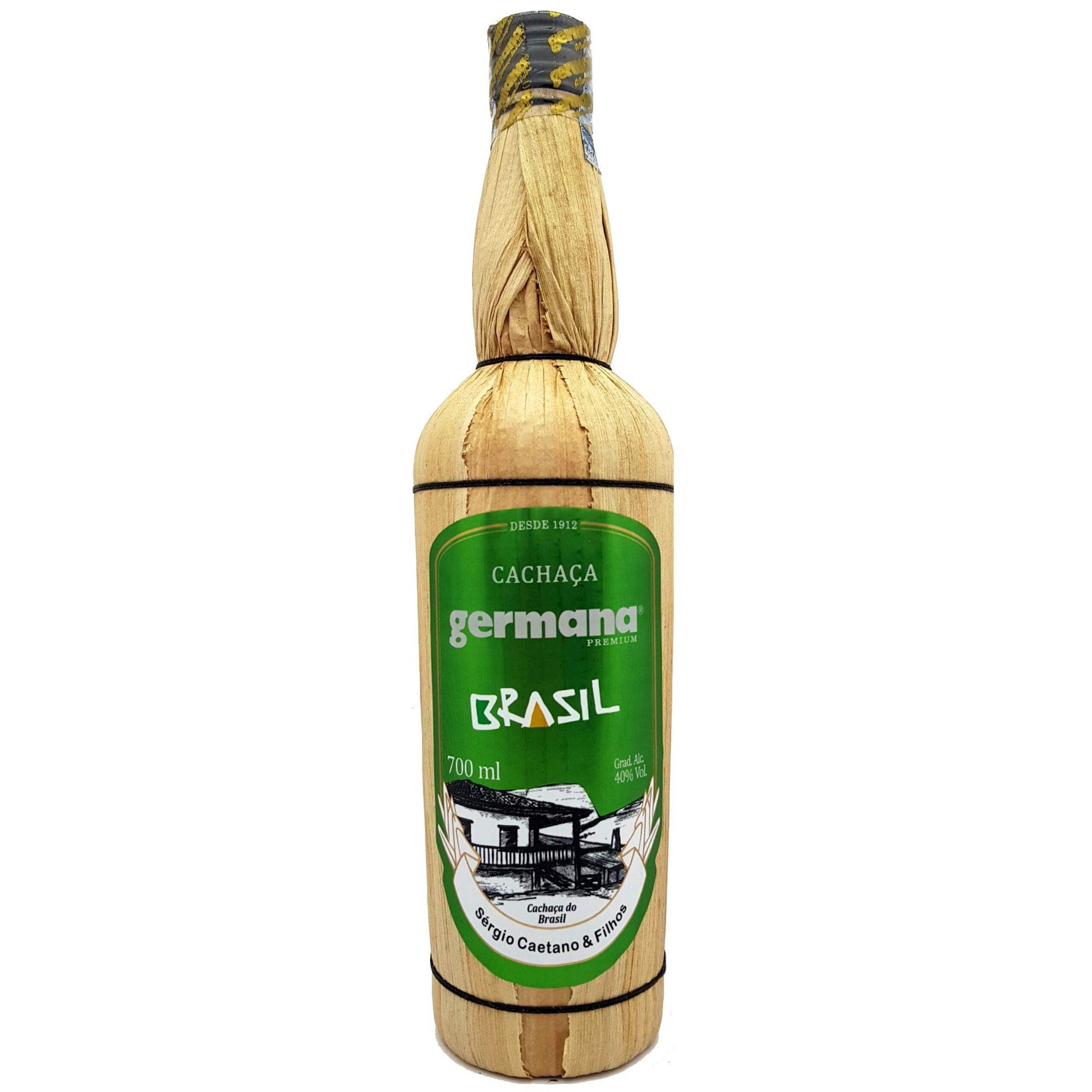 Cachaça Germana Brasil 5 Anos 700ml