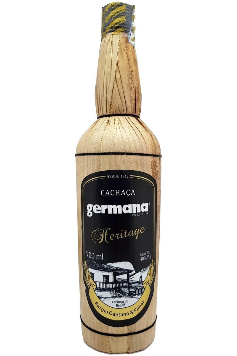 Cachaça Germana Heritage 10 Anos 700ml