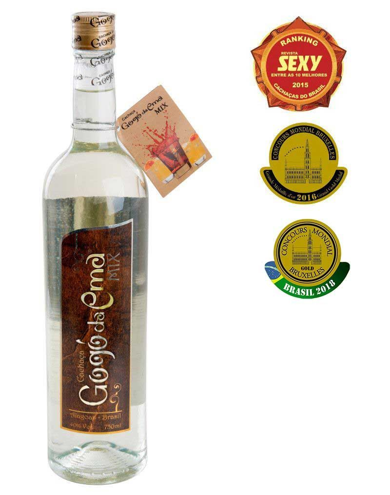 Cachaça Gogó da Ema Mix 750ml