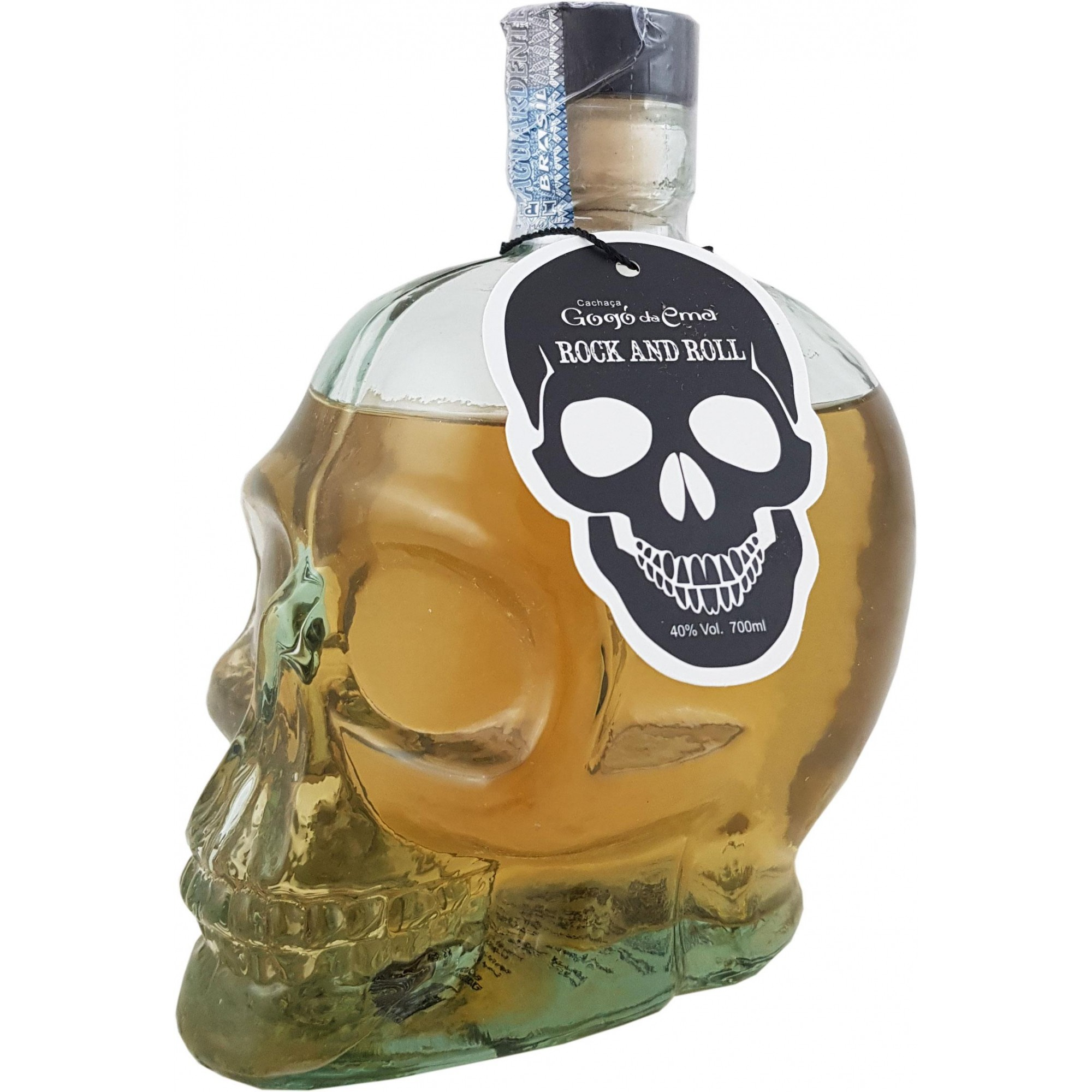 Cachaça Gogó da Ema Rock and Roll Premium 700ml