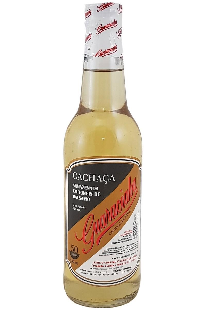 Cachaça Guaraciaba Ouro 350ml