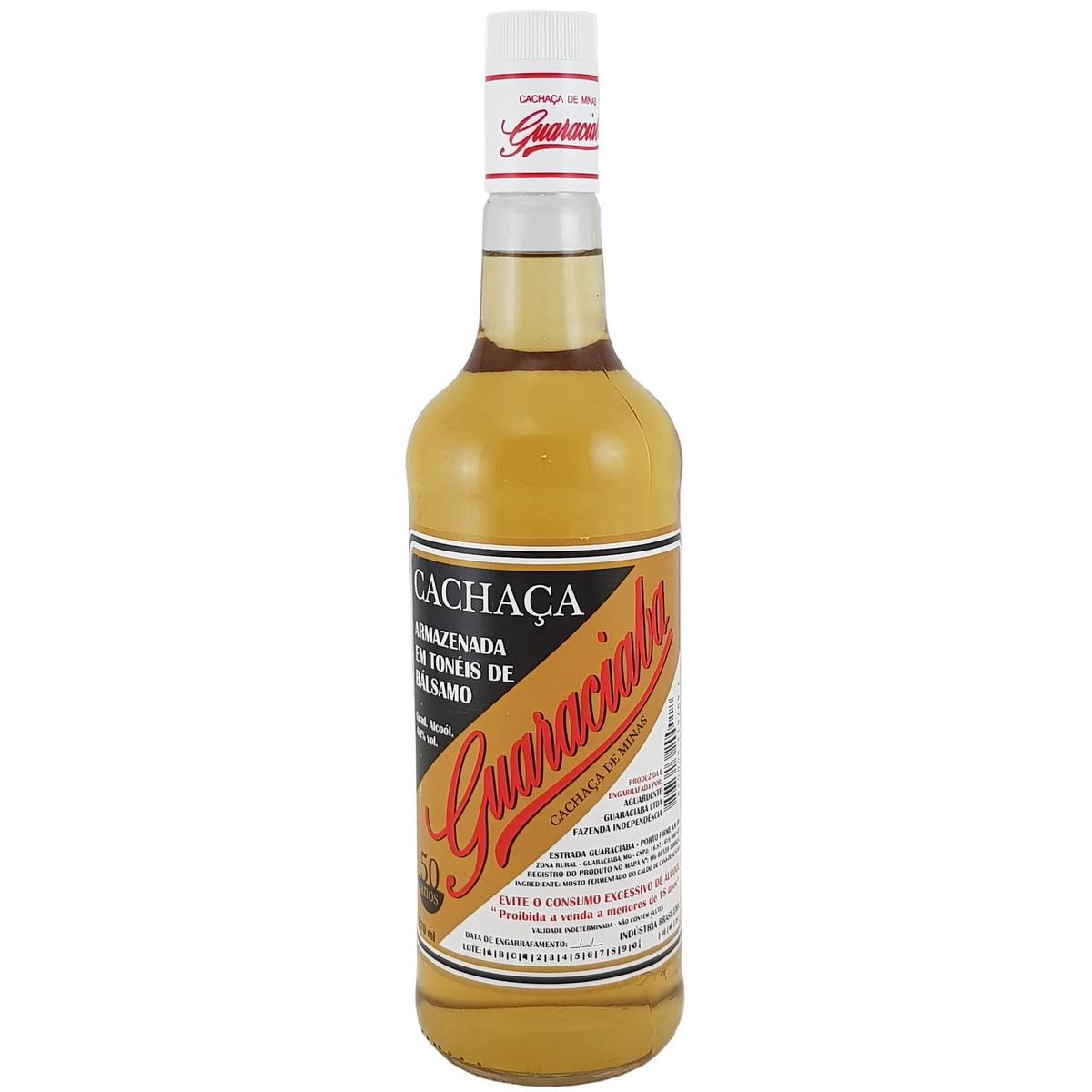 Cachaça Guaraciaba Ouro 970ml