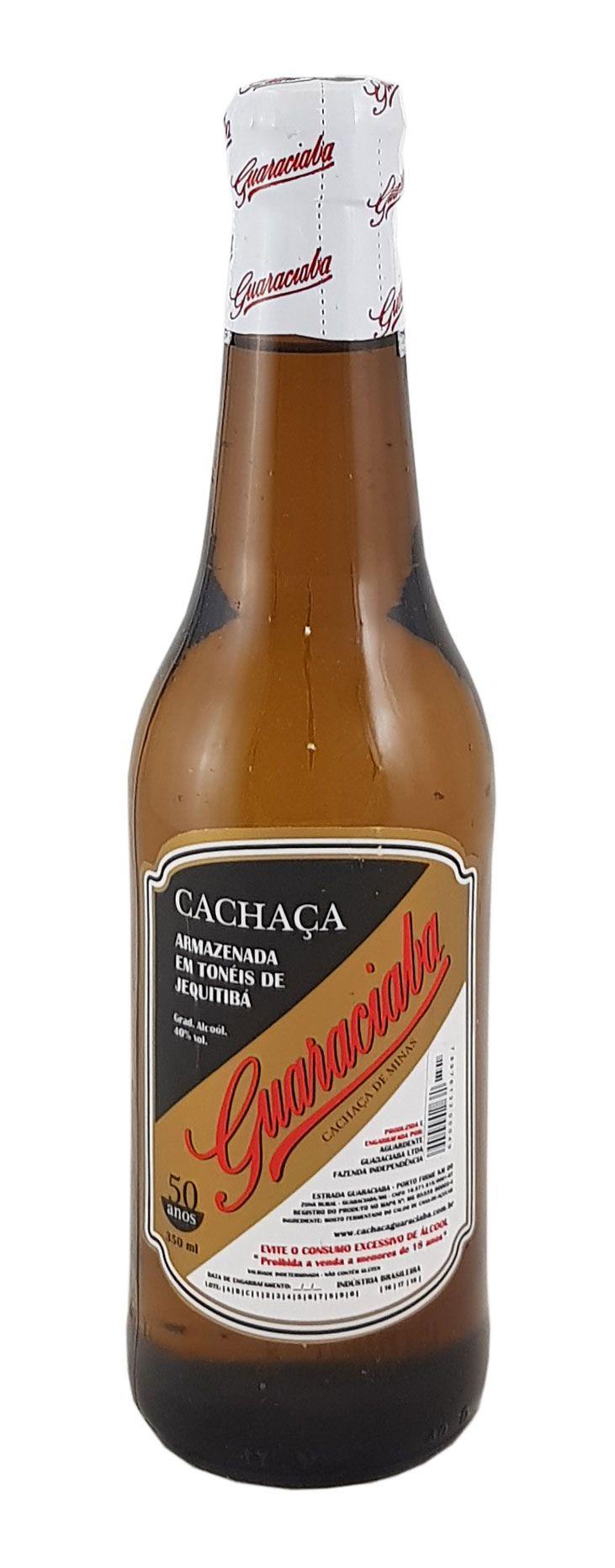Cachaça Guaraciaba Prata 350ml