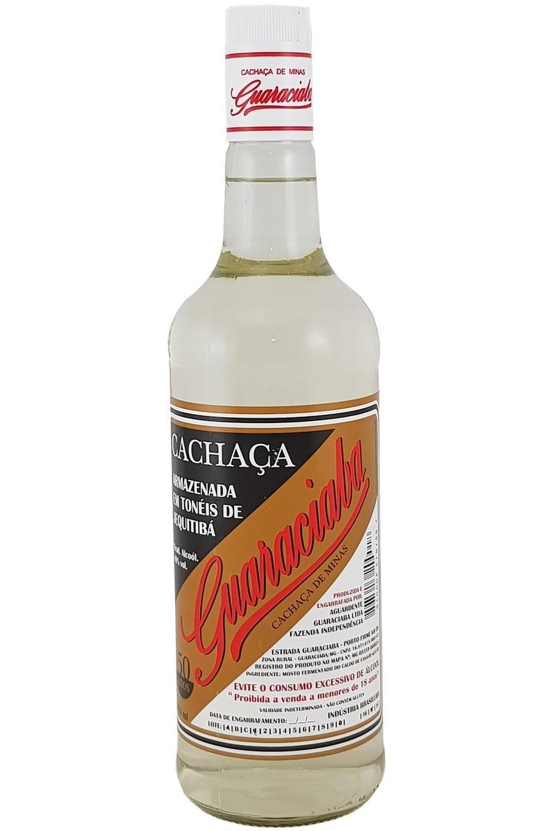 Cachaça Guaraciaba Prata 970ml