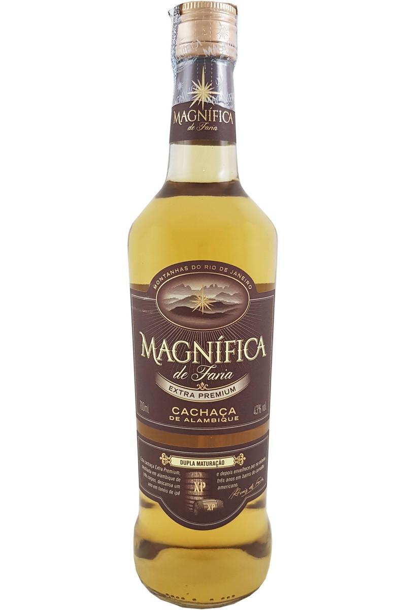 Cachaça Magnífica Extra Premium Dupla Maturação 700ml