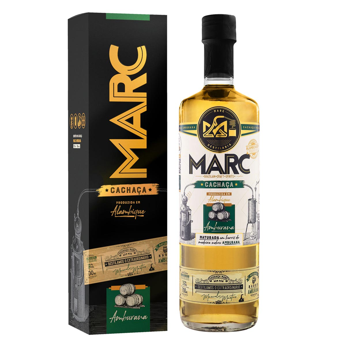 Cachaça Marc Amburana 700ml