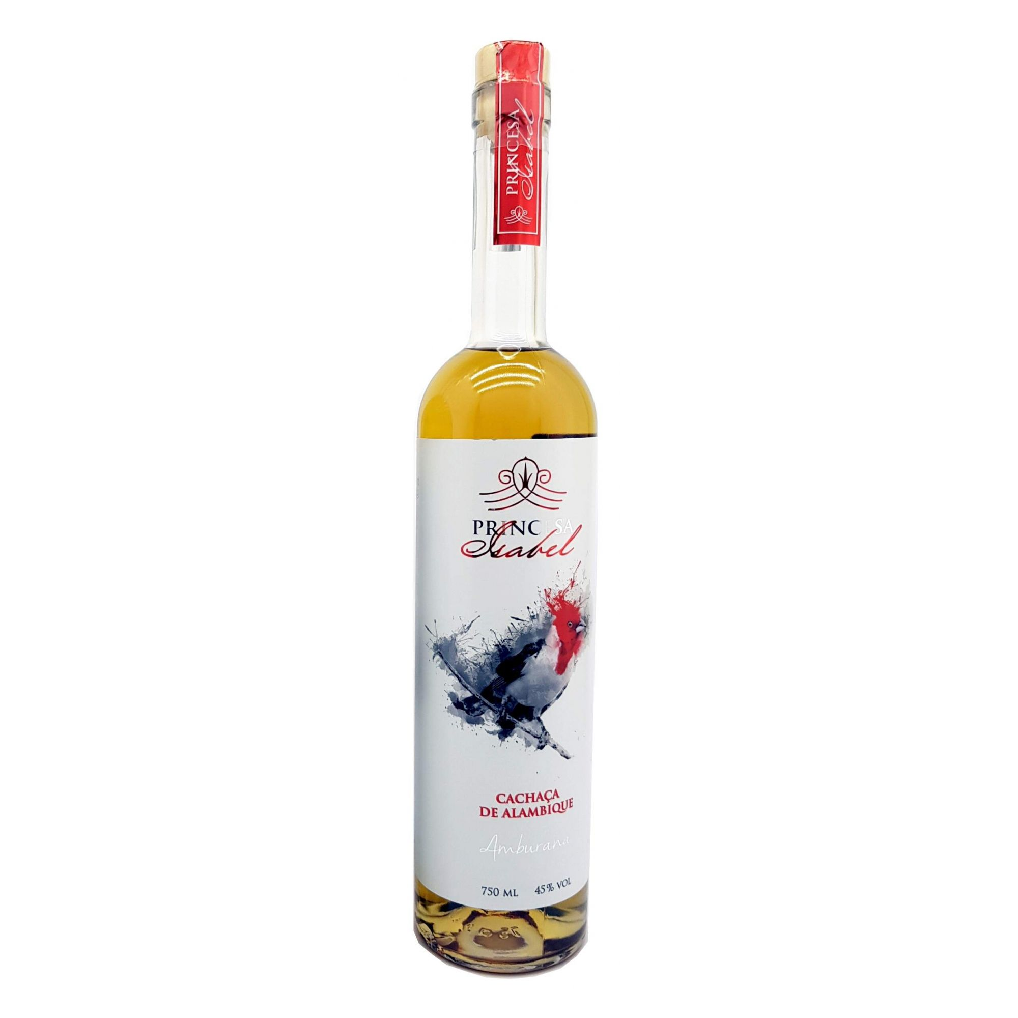 Cachaça Princesa Isabel Amburana 750ml