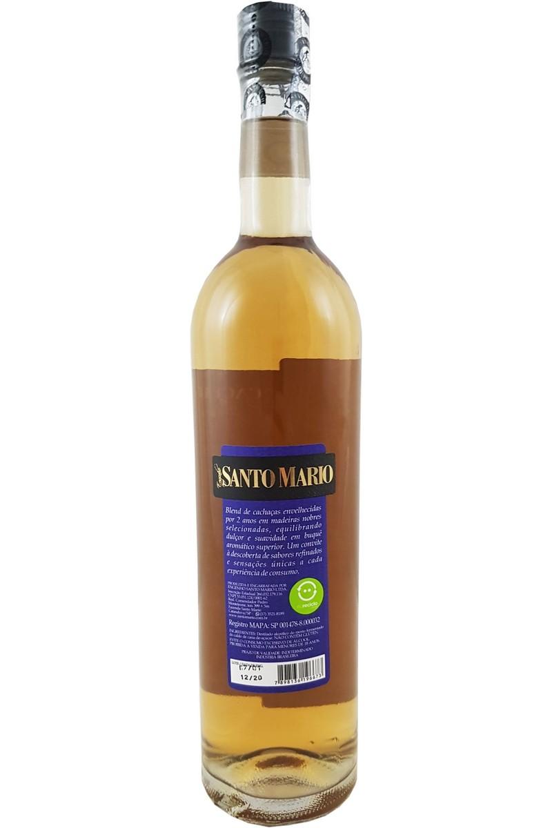 Cachaça Santo Mario 5 Madeiras Nobres 750ml