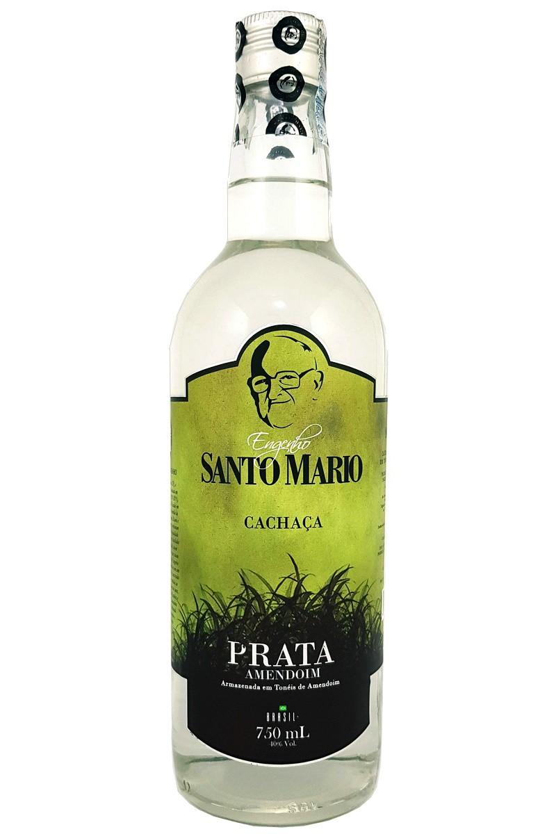 Cachaça Santo Mario Prata 750ml
