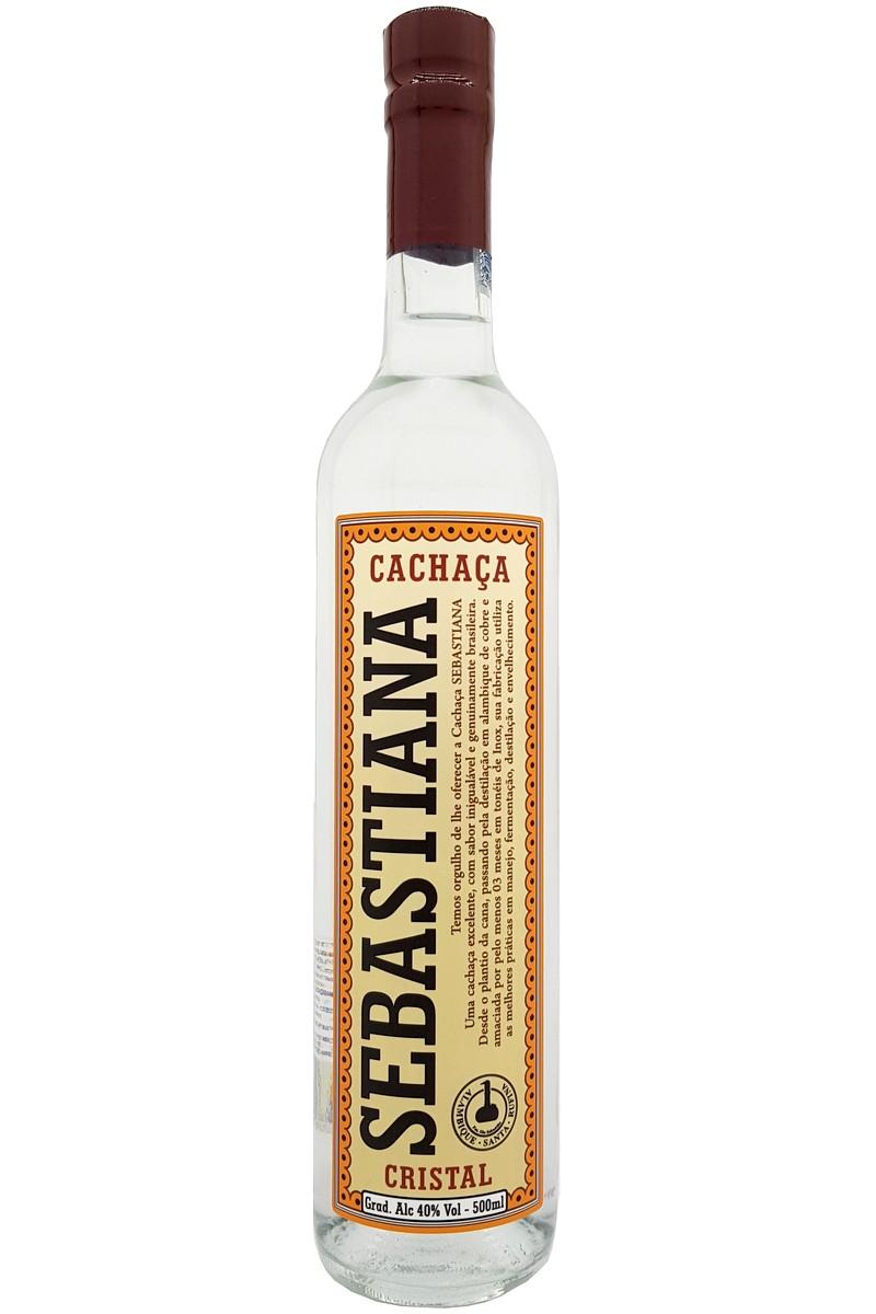 Cachaça Sebastiana Cristal 500ml