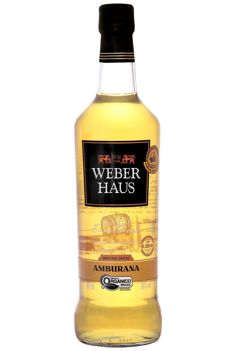 Cachaça Weber Haus Amburana Orgânica 700ml