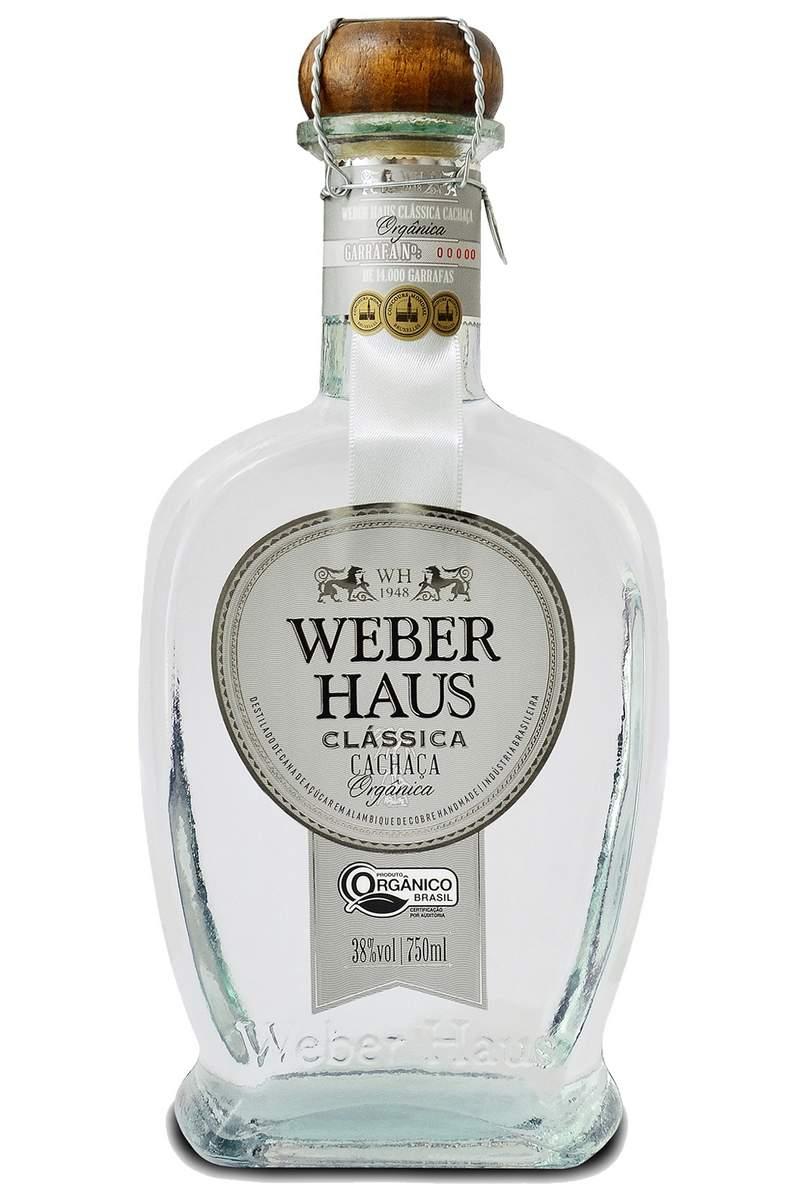 Cachaça Weber Haus Especial Clássica Orgânica 750ml